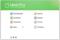 libre office - Writer, Calc, Impress, Draw, Math i Base