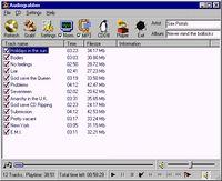 audiograbber main window