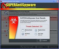 Nadjeni virusi SUPERAntiSpyware Free Edition