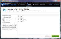 Custom Scan konfiguracija