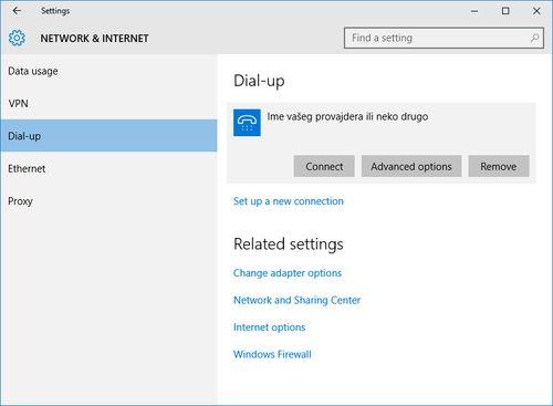 Kako napraviti PPPoE konekciju u Windows -u 10 - Podešavanje