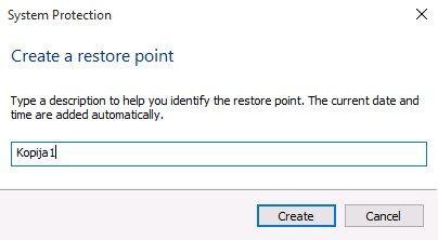 Windows 10 System Restore - Opis