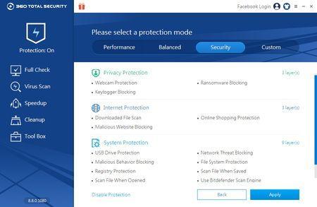 360 Total Security besplatni antivirus - Protection On