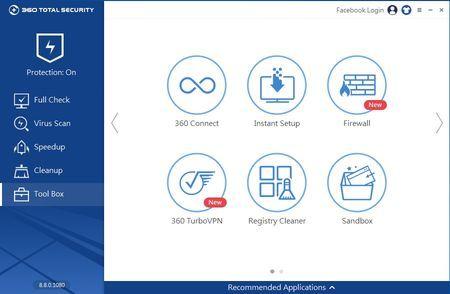 360 Total Security besplatni antivirus - Tool Box