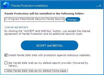 Panda antivirus - instalacija