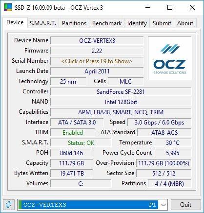 SSD-Z - Device