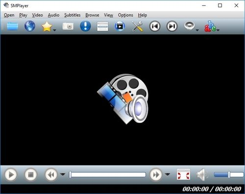 SMPlayer - osnovni prozor