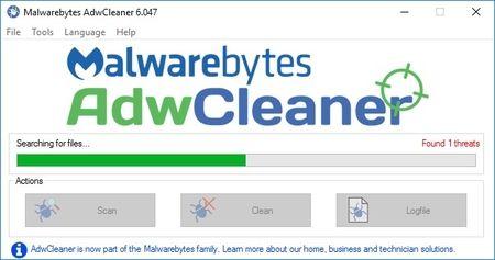 AdwCleaner - pretraga računara